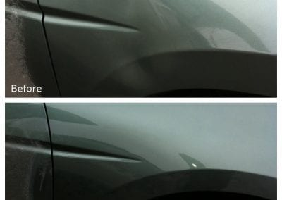 Fixed with Paintless Dent Repair